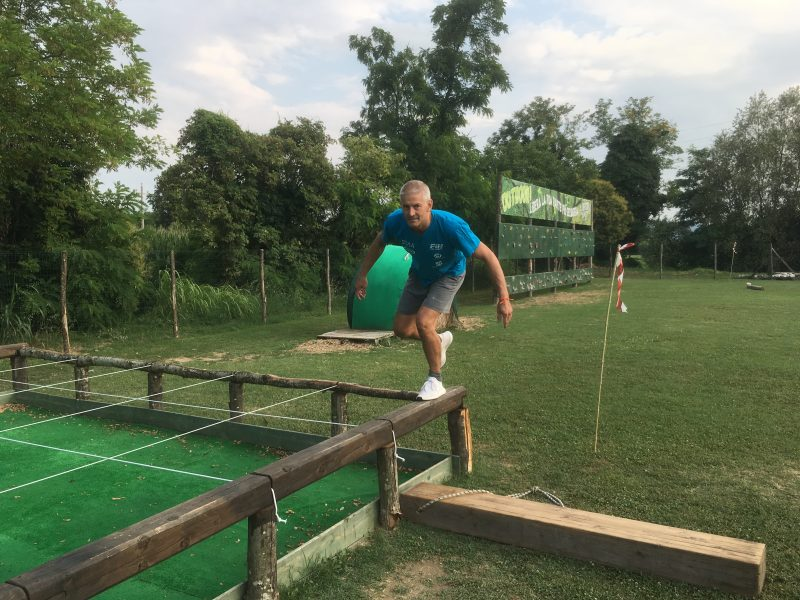 L'equilibrio si perfeziona con l'allenamento